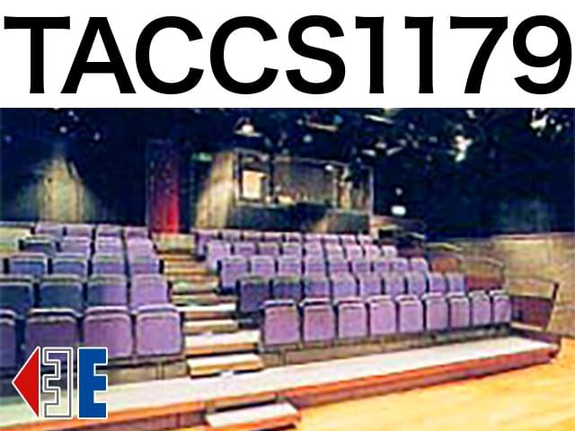 TACCS1179 劇場座席表(112人)- MDATA
