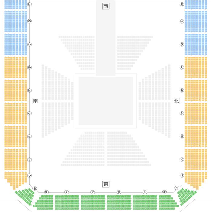 高松市総合体育館 第1競技場座席...